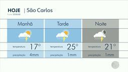 Confira a previsão do tempo para as regiões de Ribeirão Preto e Central do Estado
