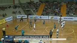 Vôlei Ribeirão perde para o Taubaté pelo Campeonato Paulista