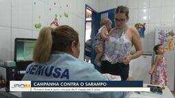 Campanha de Vacinação contra o Sarampo começa em Porto Velho