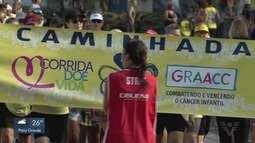 Corrida do Graacc reúne cerca de 3 mil pessoas em Santos
