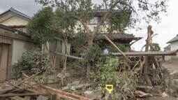 Tufão Hagibis deixa destruição e 74 mortos no Japão