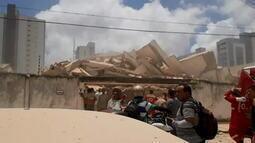 Prefeitura de Fortaleza diz que pavimentos do edifício eram irregulares