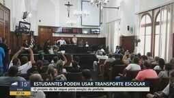 Câmara de São Carlos aprova mudanças na lei de transporte escolar