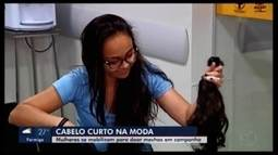 Outubro Rosa: campanha em Araxá mobiliza pessoas para doação de cabelo