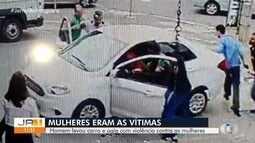 Homem é preso suspeito de roubar dois carros e arrastar pessoas que tentaram impedir crime