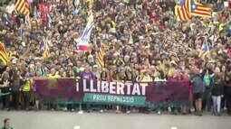 Guga Chacra: Prisões de líderes separatistas levam mais de 500 mil às ruas de Barcelona