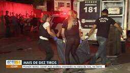 Homem é morto a tiros em Novo Porto Canoa, na Serra