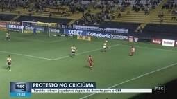 Criciúma perde para o CRB e se complica na Série B; Figueira visita o Paraná