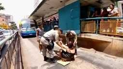 Mulher que fez protesto no Eixo Anhanguera diz que celular furtado era emprestado