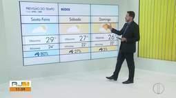 Confira a previsão do tempo no interior do Rio