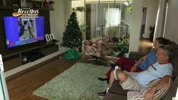 """Campeã do concurso de receitas ganha uma televisão LED 55"""""""