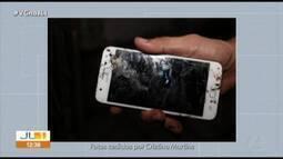 Curto-circuito em cabo de celular causa princípio de incêndio em Belém