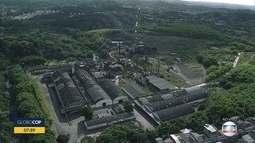 Incêndio atinge área de antiga usina em Jaboatão dos Guararapes