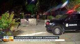 Jovem de 18 anos é morto em Cidade Continental, na Serra, ES
