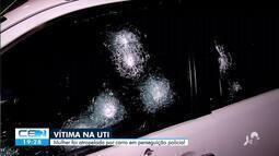 Segue internada em estado grave vítima de motorista em Sobral
