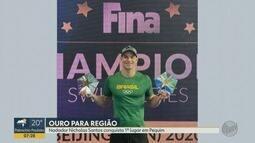 Nicholas Santos conquista 1º lugar na Copa dos Campeões de Natação