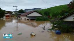 Defesa Civil emite alerta para evacuação de moradores em distrito de Alegre, no Sul do ES