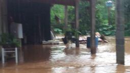 Chuvas causam transtornos a moradores do bairro Aralú em Santa Isabel