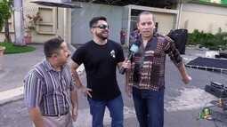 Bastidores da gravação do vídeo especial de 50 anos da TV Verdes Mares