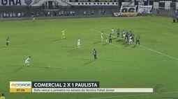 Comercial-SP vence o Paulista na estreia do técnico Fahel Júnior