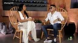 Tierry em entrevista com Niara Meireles