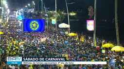 Confira apresentação de Léo Santana no terceiro dia do carnaval de Salvador