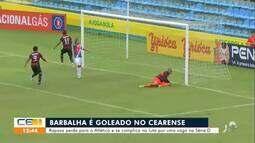 Barbalha é goleado no Campeonato Cearense