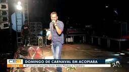 No domingo de Carnaval em Acopiara teve Aldair Playboy e Tropykália
