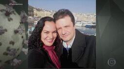 Marido de jornalista capixaba morreu na Itália vítima do Coronavírus