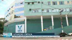 Hospital Evangélico de Cachoeiro, ES, está sendo preparado para receber pacientes da Covid