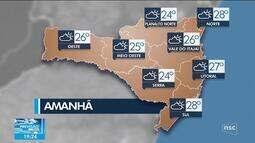Veja como fica o tempo em Santa Catarina no fim de semana