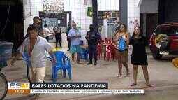 Guarda Municipal faz operação e encontra bares abertos e aglomerações em Vila Velha