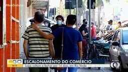 Lojas voltam a fechar as portas por duas semanas, em Rio Verde