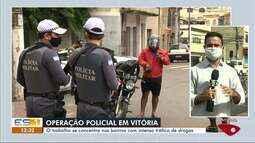 Polícia Militar realiza nova operação no bairro da Penha, em Vitória