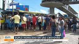 Homens são assassinados no início da manhã desta sexta-feira, em São Cristóvão