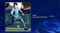 São Bento anuncia contratação do jogador Igor Soares