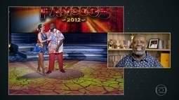Péricles relembra participação no 'Dança dos Famosos'