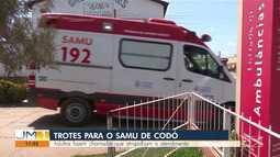 Em Codó, o número de trotes de crianças para o SAMU diminuiu