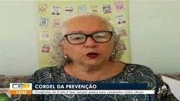 Academia de cordelistas do Crato e Sesc lançam poesia para campanha contra câncer