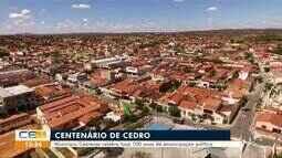 Município de Cedro celebra 100 anos de emancipação política