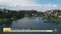 Bahia se prepara para voltar a jogar na Arena Fonte Nova; time enfrenta o Melgar, do Peru