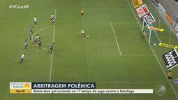 Com gol de pênalti, Bahia vence o Botafogo no último minuto de jogo na Arena Fonte Nova