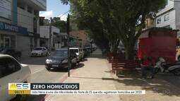 João Neiva é uma das três cidades do Norte do ES que não registraram homicídios em 2020