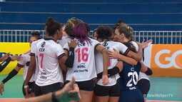 Melhores momentos: São Caetano 0 x 3 Sesc-Flamengo pela Superliga Feminina de Vôlei