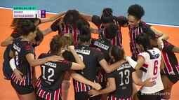 Melhores momentos: Osasco 1 x 3 São Paulo-Barueri pela Superliga Feminina de Vôlei