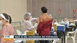 Fortaleza tem mais de 23 mil pessoas vacinadas