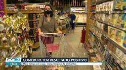 Supermercados puxaram a alta nas vendas do comércio no ES