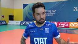 """Apesar de derrota, Willian se emociona com temporada do Minas: """"Muito orgulho do que foi construído aqui"""""""