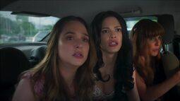 Luna, Kyra e Alexia decidem seguir Dominique em 'Salve-se Quem Puder'