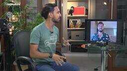 Klênyo Galvão entrevista Bil Araújo, ex-participante do No Limite; assista o papo na ínteg
